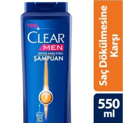 CLEAR 600ML MEN SAMP.SAC DOK.KARSI ETKI