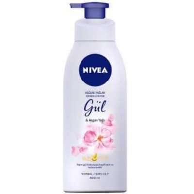 NIVEA BODY PUMP GUL&ARGAN OIL IN LOTION 400ML
