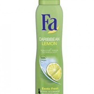 FA DEO CARIBBEAN LEMON 150ML