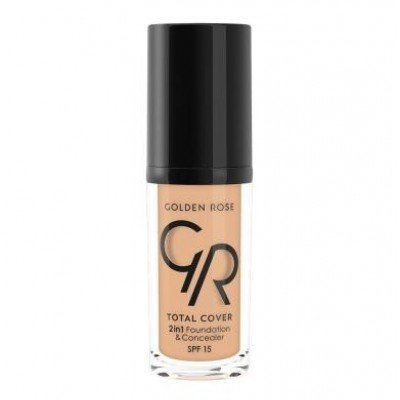 G.R TOTAL COVER 2IN1 FOUN&CONCEALER NO:12