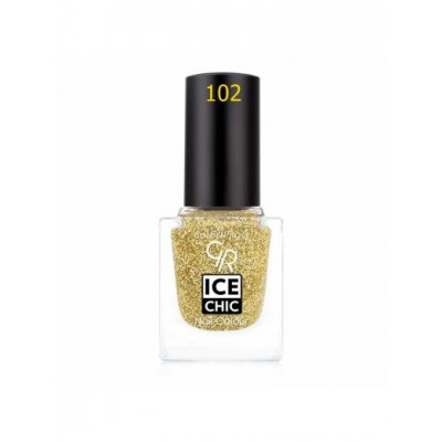 Golden Rose Ice Chic Nail Colour No : 102